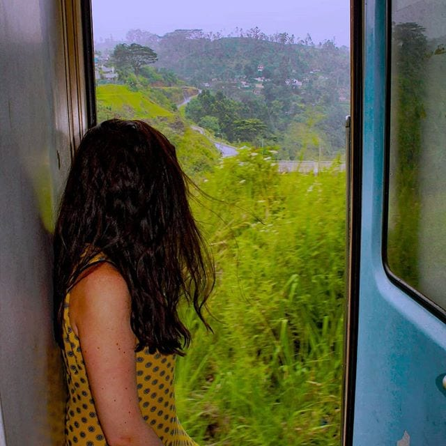 ella, kandy, sri lanka train journey