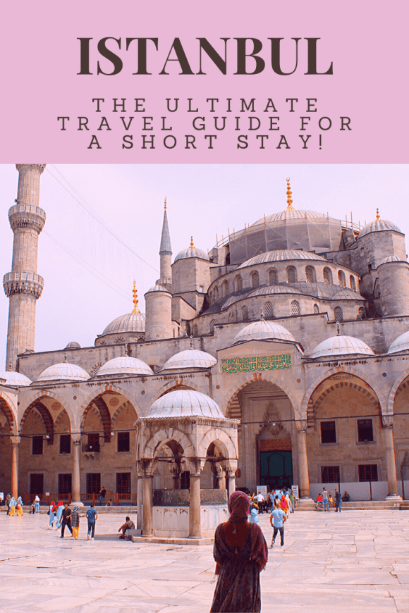 We visited the city of Istanbul on a long layover and we fit so much into 24 hours. From the Grand Bazaar to Hagia Sophia, here's our detailed itinerary.