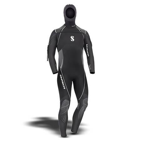 חליפת Definition 7mm Hooded with Front Zip לגברים