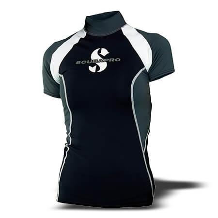 חולצת t-flex נשים, שרוול קצר, שחור