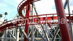 Amusement Park, Bridge, Building, Coaster, Roller Coaster, Theme Park