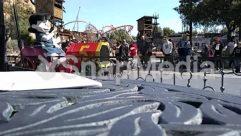 Adventure, Amusement Park, Carnival, Theme Park, Town, Tractor, Train, Transportation