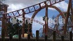 Amusement Park, Art, Bridge, Building, Coaster, Outdoors, Roller Coaster, Sculpture, Statue, Theme Park