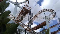 Adventure, Amusement Park, Building, Coaster, Construction Crane, Leisure Activities, Roller Coaster, Theme Park