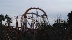 Amusement Park, Bridge, Building, Coaster, Gate, Roller Coaster, Theme Park