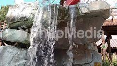 Waterfall,Water,Rock,Fountain,water fall