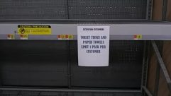 empty shelves,store,food,coronavirus,market