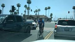 Person, Human, Transportation, Car, Automobile, Vehicle, Bicycle, Bike, Road, Sport, Sports, Truck, Cyclist, Grand Theft Auto, Plant, Social distancing, huntington beach ca