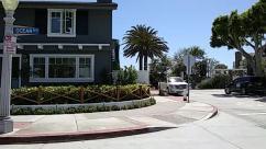 Building, Cottage, House, Housing, Road, Transportation, Vehicle, Automobile, Car, Urban, Town, City, Street, Plant, Tree