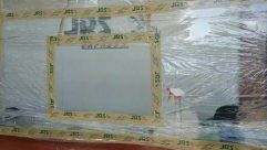 Plastic Wrap, White Board, Boat, Aluminium, covid-19 protection, Alcohol, establishment, business on going