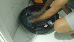 Bowl,Washing,Tub,Pot,laundry,handwashing clothes,manual laundry