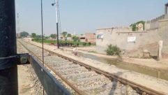 Train Track, Transportation, Rail, Railway, Person, Bike, Bicycle, Vehicle, Machine, Wheel, Road, Train Station, Train, Terminal, Urban