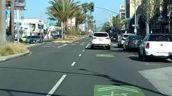 Road, Asphalt, Tarmac, Person, Car, Vehicle, Transportation, Automobile, Intersection, Zebra Crossing, Urban, Town, Street, City, Building