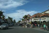 Street, Town, Road, Building, City, Urban, Transportation, Automobile, Vehicle, Car, Person, Downtown, Metropolis, Neighborhood, Pedestrian