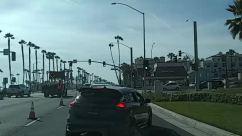 Road, Light, Traffic Light, Person, Automobile, Vehicle, Car, Transportation, Intersection, Pedestrian, City, huntington beach, Protest, george floyd