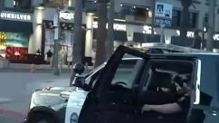 george floyd, Helmet, Automobile, Vehicle, Car, Machine, Military, Military Uniform, Building, Car Dealership, Army, huntington beach, Protest, police