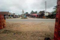 Building, Town, Street, Road, City, Shelter, Rural, Countryside, Bus, Vehicle, Workshop, Slum, Downtown, Housing, Market