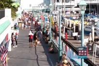 Path, Water, Waterfront, Building, Flag, Symbol, Pier, Port, Harbor, Dock, People, boardwalk, social distancing