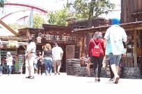 Amusement Park, Theme Park, People, Vacation, social distancing, mask, crowd
