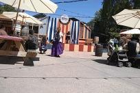 Bazaar, Shop, Furniture, Vehicle, magic show, stage