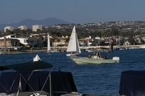 Boat, Vehicle, Water, Vessel, Watercraft, Waterfront, Dock, Harbor, Pier, Port, Building, City, Town, Yacht, Sailboat