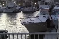 Boat, Vessel, Watercraft, Water, Waterfront, Yacht, Dock, Marina, boat docking, crash