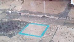 Flagstone, Concrete, Slate, Shorts, Path, Floor, Footwear, Pavement, Sidewalk, Barefoot, Shoe, Heel, Bowl, Walkway, City