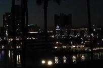 Lighting, Light, High Rise, Downtown, Water, Waterfront, Night
