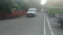 Building, Road, City, Street, Town, Vehicle, Bus, Van, Truck, Minibus, Automobile, Car, Suburb, Wheel, Neighborhood
