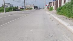 Road, Building, City, Street, Town, Intersection, Vehicle, Car, Automobile, Path, Freeway, Highway, Pavement, Sidewalk, Wheel