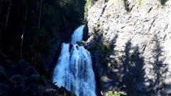 Water, River, Waterfall, Vegetation, Plant, Rock, Cliff, Tree, Land, Woodland, Forest, Mountain, Rainforest, Wilderness, Jungle