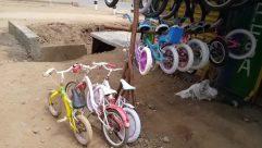 Wheel, Bicycle, Vehicle, Bike, Mountain Bike, Spoke, Tire, Shop, Workshop, Bmx, Automobile, Car, Car Wheel, Ground, Alloy Wheel