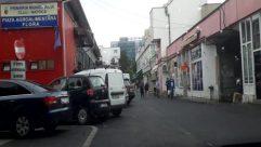 Automobile, Vehicle, Wheel, Road, Parking, Parking Lot, Van, City, Building, Town, Street, Tire, Path