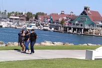 Water, Waterfront, Vehicle, Bicycle, Bike, Port, Pier, Harbor, Dock, Vessel, Watercraft, Path, Skateboard, Sport, Sports