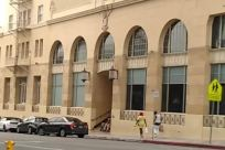Home Decor, Building, Housing, Vehicle, Car, Automobile, City, Town, Shop, Traffic Light, Light, Postal Office, Text, Banister, Handrail