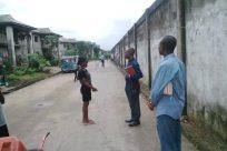 Pants, Footwear, Shoe, Building, Jeans, Denim, City, People, Prison, Town, Slum, Barefoot, Vehicle, Street, Road