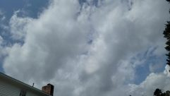 Weather, Sky, Cloud, Cumulus, Building, Azure Sky, Countryside, Rural, Tree, Plant, Housing, Tower, Shelter, City, Town