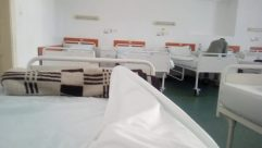 Furniture, Hospital, Bed, Chair, Room, Building, Housing, Clinic, Interior Design, Couch, Operating Theatre, Waiting Room, Cushion, Living Room, Table
