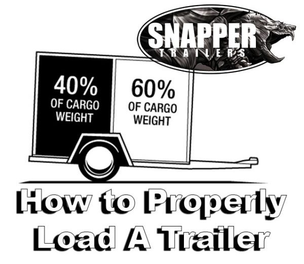 How To Properly Load A Trailer