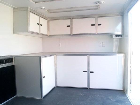 L shape cabinets