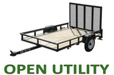 Open Utility Trailers