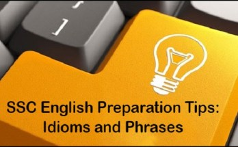 SSC Idioms Preparation Tricks