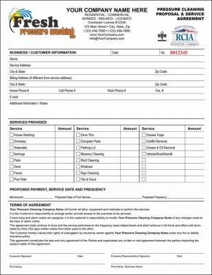 Asphalt Paving And Concrete Fillable Word And Pdf Forms