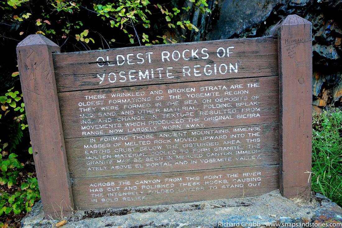 Yosemite National Park oldes Rocks