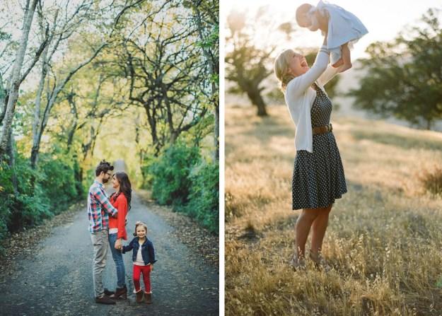 family photos - what to wear, photographers, natural light, film, poses, modern, trendy, classic, blazers, cream, white, gap, j. crew, banana republic, mom, babies, dad, kids