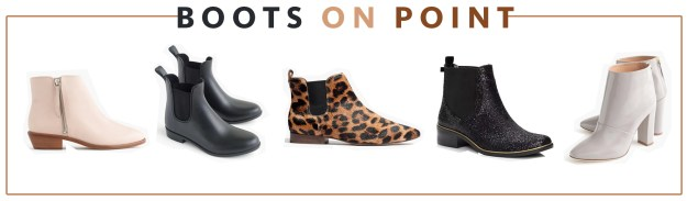 Fall 2015 Trends Boots on Point