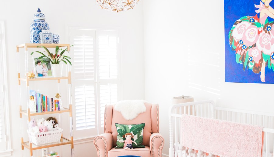 Charlotte's Bright, Mixed-Pattern Nursery