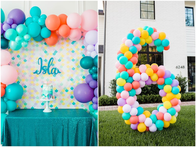 Isla S Mermaid Drive By Birthday Party Snapshots My Thoughts By Ailee Petrovic