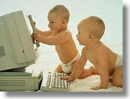 Babes with PC's. Is this how we look to God?