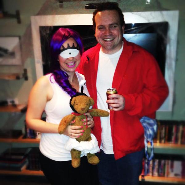 Futureama fry and lela costumes